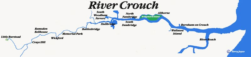 Map of the River Crouch
