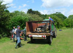 rubbish removed from River Crouch at Memorial Park Wickford